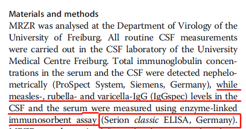 超越模仿,创新跨越 系列Ⅰ——抗体指数在脑脊液检测中的应用